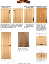 cabinet door hardware placement guidelines taylorcraft cabinet door pany