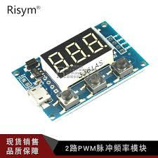 risym 2 road pwm pulse frequency adjule duty cycle wave signal generator stepper motor drive module in on alibaba