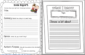 research paper template for kids Pinterest