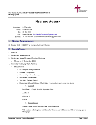 Creating An Agenda Template 24 Agenda Meeting Format Data Analyst Resumes 14