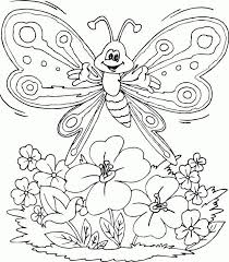 flower and butterfly coloring pages. Interesting And Flowers And Butterflies Coloring Pages 2 In Flower Butterfly R