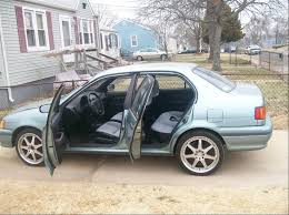 1993 Toyota Tercel - Information and photos - ZombieDrive