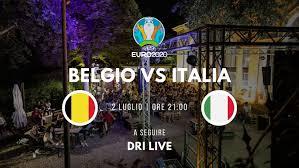 Belgio VS Italia – Quarti di Finale – Euro 2020 - La Limonaia