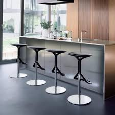 Modern Bar Stools and Kitchen Countertop Stools in Soft Round Shapes