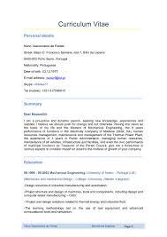 Design Engineer Resume Examples Best of Mechanical Engineer Curriculum Vitae
