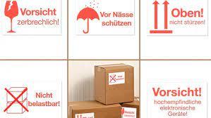 Dhl paket international direct bietet direkteinspritzung in 210. Warnetiketten Zum Selbstbedrucken Avery Zweckform