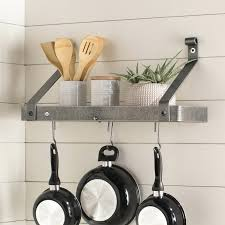 wall pot rack handcrafted gourmet wall mounted pot rack wall pot rack diy wall pot rack