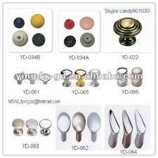 YD-022-066 Different types Plastic/Zinc alloy oval door knobs from Door