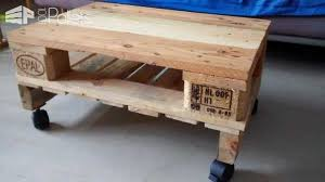DIY How To Make A Coffee Table Out Of An Old Pallet  YouTubePallet Coffee Table On Wheels
