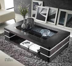 coffee table modern black