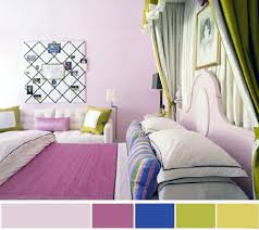 purple and blue bedroom color schemes. Lilac Purple Blue Green Interior Color Schemes And Bedroom M