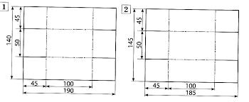 Итоговая контрольная работа по технологии начальные классы тесты 8 Отметь номер развертки коробки в которой все размеры указаны верно
