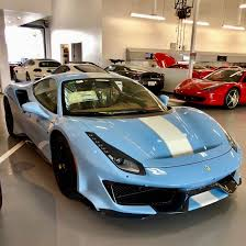 1x adjustable car baby child back seat rear view safety mirror with suction cup (fits: Baby Blue Ferrari 488 Pista Lands In San Diego The Supercar Blog