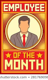 Employee Of The Month Photo Frame Royalty Free Employee Of The Month Images Stock Photos Vectors