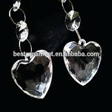 hanging chandelier crystal acrylic bead garland for diy