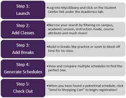 Class Planer Schedule Planner University At Albany Suny