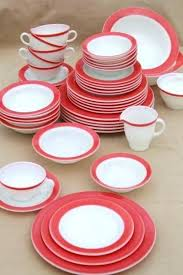 red glass dinnerware charger plates ruby salad