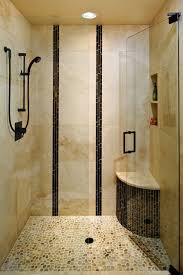 shower ideas for small bathroom simple square glass sliding doors fixtures small over mirror brown tiled