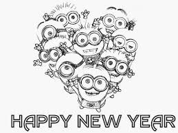 Small Picture Happy New Year Coloring Pages Preschool Picture Archives gobel