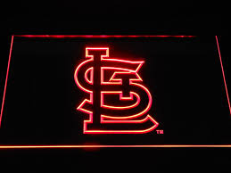 Cardinals Neon Light St Louis Cardinals Stl Led Neon Sign Led Neon Signs Neon
