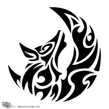 Tatuaggio Di Lupo E Luna Ricerca Passione Tattoo Custom Tattoo