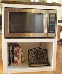 Kitchen Microwave Building A Custom Microwave Cabinet Simply Swider