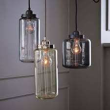 pendant lighting edison bulb. glass jar pendant lights from westelm lighting edison bulb