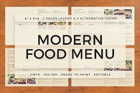 pages menu template 30 best food drink menu templates design shack
