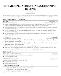Construction Resume Skills Mesmerizing Operations Manager Resume Sample Pdf Shift General Ma Breathelightco