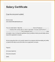 Company Salary Certificate Format Guatemalago