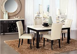 incredible awesome black and cream dining room 72 in modern dining room cream dining room chairs designs