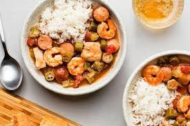crock pot en sausage and shrimp