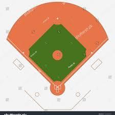 Baseball Field Template Printable Printable Baseball Field Position Template Archives Bi