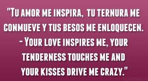 Spanish Love Quotes Spanish Love Quote Spanish Love Quotations Awesome Love Quotes In Spanish