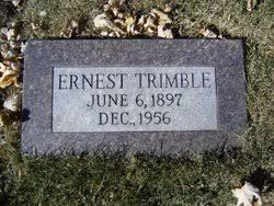 Ernest Trimble (1897-1956) - Find A Grave Memorial
