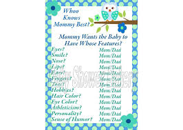 simple baby shower games | Baby Shower Ideas Gallery