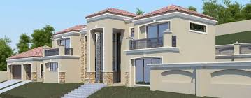 T D   NethouseplansModern Tuscan style  bedroom house plan  Double storey floor plans  Nethouseplans architectural