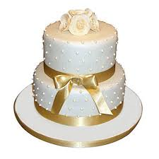 Special 2 Tier Anniversary Cake Chocolate 3kg Gift Decorated