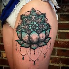 тату выше колена женские тату на ноге интересные татуировки на
