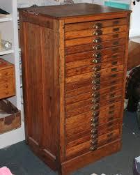 antique hamilton printers cabinet flat file work artist studio wood working missionartscrafts hamilton