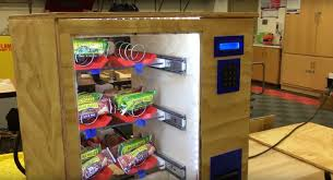 Building A Vending Machine Stunning Arduino Blog These High School Students Built Their Own Vending