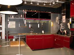red kitchen wall decor and black fascinating