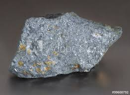 Sulfide Minerals Mineral Lead Glance Galena With Blende The Chief Ore Mineral Of
