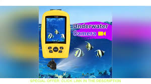 ⚡️ Waterproof 20M Cable Length LUCKY Underwater Fishing & Inspection Camera  System CMD sensor w/ 3. - YouTube