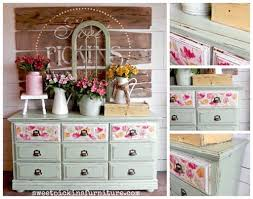 floral decoupage furniture. Mod Podging With Napkins Has Become Really Popular! Get 10 Decoupage Ideas Using - Floral Furniture