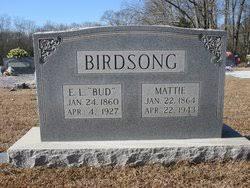 "Martha Priscilla ""Mattie"" Nichols Birdsong (1864-1943) - Find A Grave  Memorial"