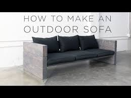 cheap modern outdoor furniture. How To Make A Modern Outdoor Sofa For Cheap - Best DIY Patio Couch Furniture R