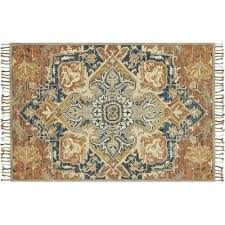 rust colored area rugs market hand hooked wool blue rug size x and rust colored area rugs