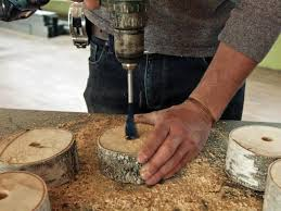 make a table lamp using a birch wood log danmade watch dan faires make reclaimed wood furniture