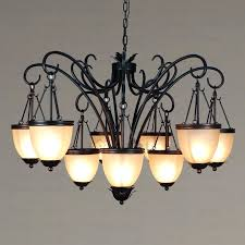 small wrought iron chandeliers black wrought iron candle chandeliers